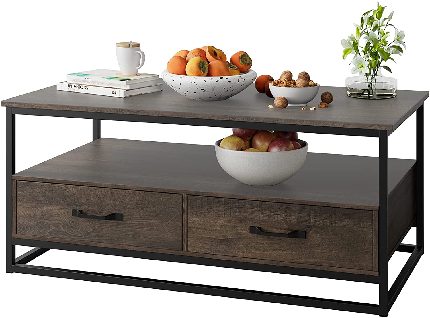 """Coffee Luxury goods Table for Dedication Living Room wit Cocktail Wooden 43"""""""