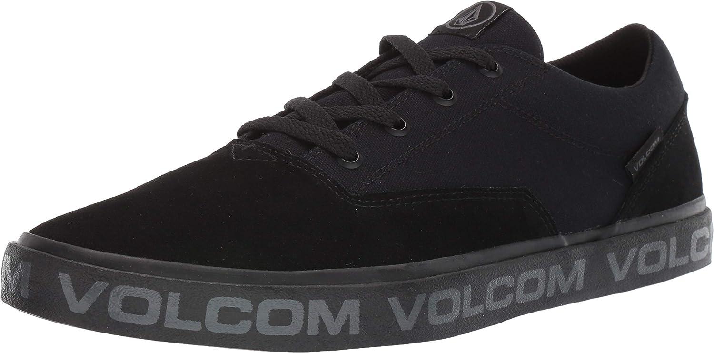 Volcom Men's Draw Lo Shoe Classic Oklahoma City Mall Suede Skate
