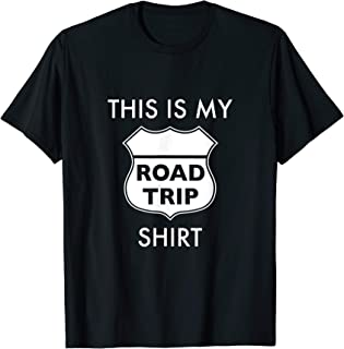 This is My Road Trip Traveling Vacation T-Shirt USA America