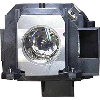 Replacement Lamp with Housing for EPSON Powerlite 830P with Philips Bulb Inside