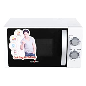 Kenstar 17 L Solo Microwave Oven (KM20SWWN, White)