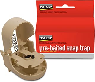 Pest-Stop PSSTMB Pre-Baited Snap Trap for Mice (Boxed)
