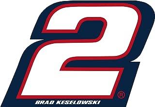 NASCAR #2 Brad Keselowski Jumbo Number Decal-NASCAR Large Sticker-NEW for 2016!