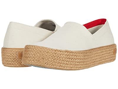 SeaVees Oceanside Espadrille High (Flax) Women