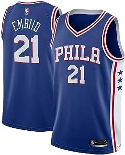 Majestic Athletic Men s Joel Embiid Philadelphia 76ers  21 Swingman Jersey  Blue 135269c81