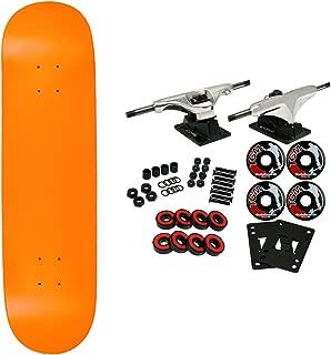 complete blank skateboard