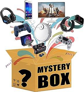 Mystery objekt, lyckliga lådor objekt inkluderar dekorationer, elektronik, leksaker, hushållsartiklar, fitness, sport och ...