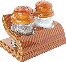 Raj Elentra Salt & Pepper Shaker, SPLM10,Brown