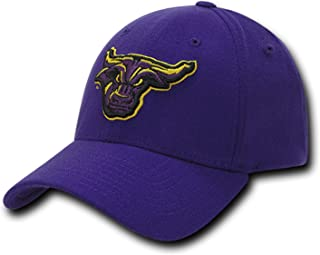University Mankato Minnesota State Mavericks NCAA Flex Baseball Fitted Fit Ball Cap Hat