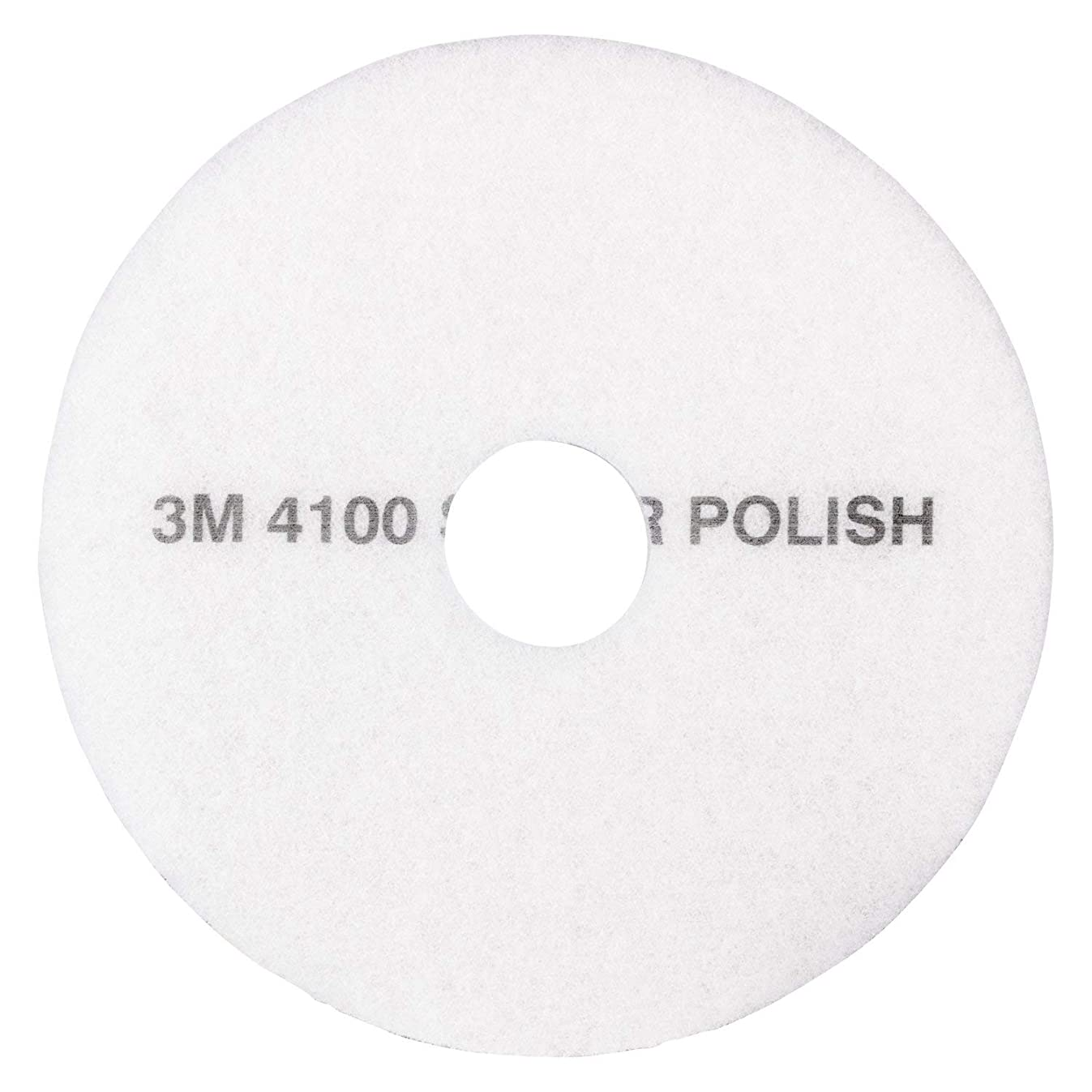 3M White Super Polish Pad 4100, 20