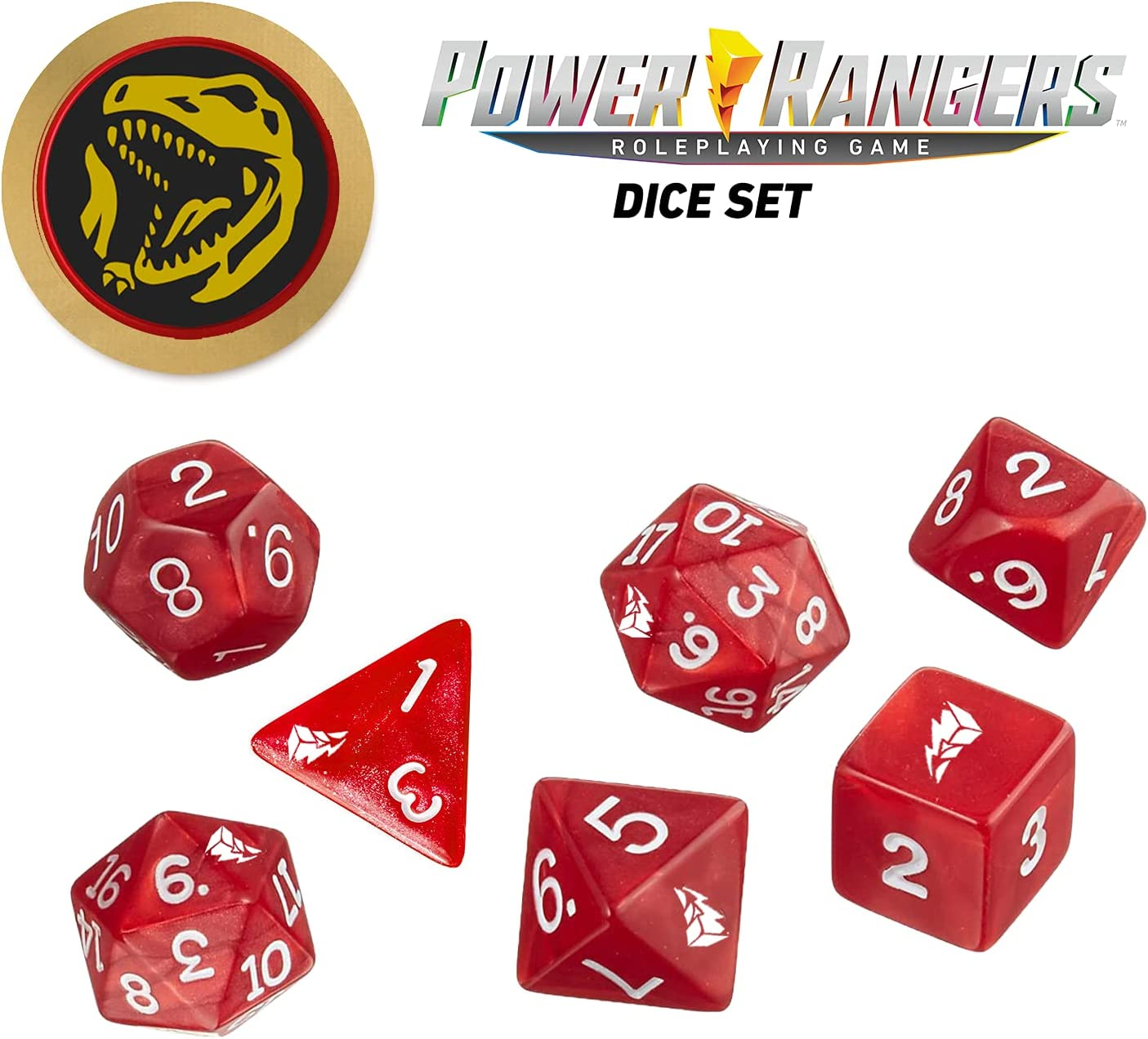 Power Rangers Roleplaying Our shop OFFers the Popular products best service Red Dice- Game