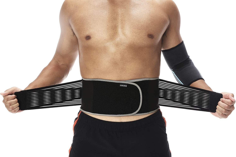 Exrebon Lower Back Brace for Adjustable Sale special price - Breathable Brand new Men Women