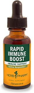 Herb Pharm Rapid Immune Boost Liquid Herbal Formula for Active Immune Support - 1 Ounce