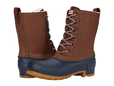 Hunter Insulated Pac Boot (Burnt Sienna/Navy) Women