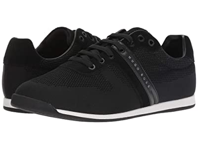 BOSS Hugo Boss Maze Knitted Sneaker by BOSS Green (Black) Men