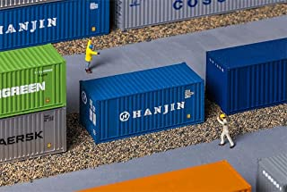 FA 180825 - 20 container Hanjin, Accessories for Model Railway, Model Making