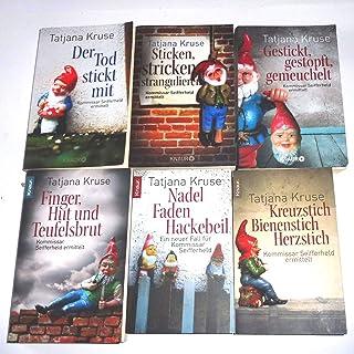 Siegfried Seifferheld- Krimis 1-6 komplett Kreuzstich, Bienenstich, Herzstich - Nadel, Faden, Hackebeil - Finger, Hut und Teufelsbrut - usw. 1,2,3,4,5,6
