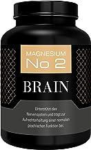 Hocheffizient Magnesium Brain 700 mg - 180 Kapseln vegan | 3 Monatsvorrat | 1400 mg/Tagesration | laborgeprüft | ohne Zusa...