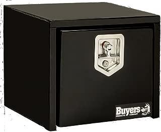 Buyers Products Black Steel Underbody Truck Box w/ T-Handle Latch (14x12x18 Inch)