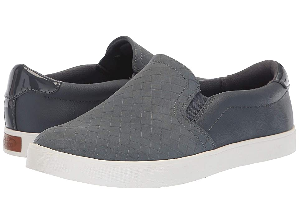 Dr. Scholl's Madison (Oxide Woven Embossed Print) Women's Slip on Shoes, Gray