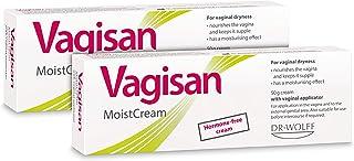 Vagisan MoistCream, 2x50g- for Vaginal Dryness