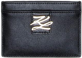 KARL LAGERFELD Porte-cartes à rabat autograph