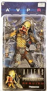 NECA Alien VS. Predator: Requiem Action Figure Series 3 Unmasked Predator (Open Mouth)