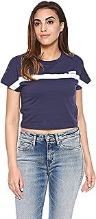 Calvin Klein T-shirt for women in Blue, Size:XS