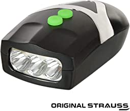 Strauss Bicycle LED Headlight with Horn