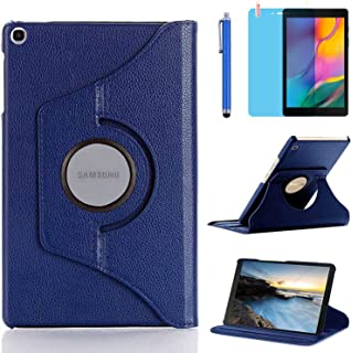 Case for Samsung Galaxy Tab A 8.0 inch 2019 (-T290 -T295 -T297) - 360 Degree Rotating Stand Case Full Protective Cover wit...