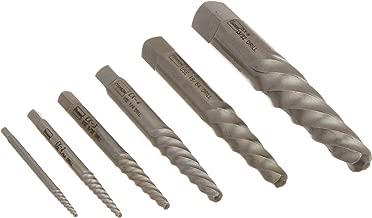 IRWIN HANSON Spiral Flute Screw Extractors, 6 Piece Set, 53545