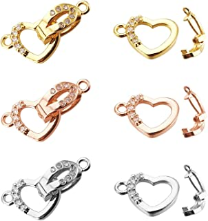 5 Brass Paved Cubic Zirconia Charm Connectors Snake 1//1 Loop 16K Gold Links 24mm