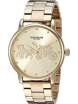 코치 그랜드 시계 COACH Grand,Gold