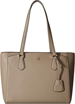 de88c3875 Tory burch mcgraw metallic tote, Women | Shipped Free at Zappos