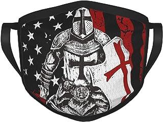 Supernatural Crusader mask for Men Fashion Reusable Washable Black