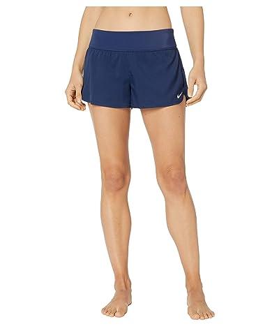 Nike Solid Element Swim Boardshorts (Midnight Navy) Women