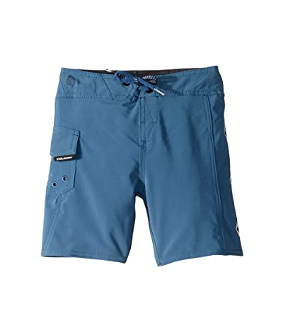 Volcom Kids Deadly Stone Mod Boardshorts (Toddler/Little Kids) (Air Force Blue) Boy