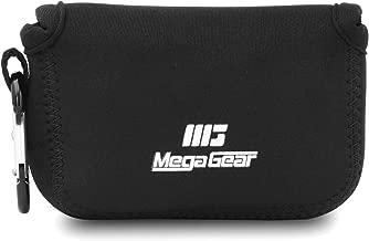 Megagear Panasonic Lumix DC-TS7/FT7 Ultra Light Neoprene Camera Case, Black (MG1475)