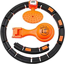 DEENGL Auto-roterende, verstelbare gewichtsverlies slimme telring, verwijderbare weging hoelahoep