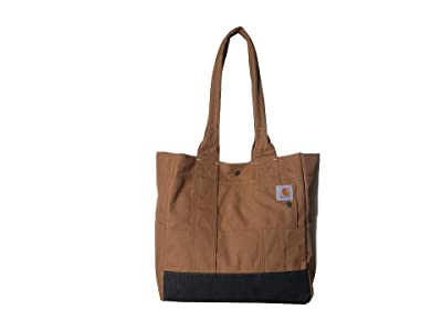 Carhartt North South Tote (Carhartt/Brown) Handbags