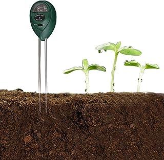 Goolsky 3-in-1 Soil Test PH Moisture Meter Light Tester Garden Plant Flowers Soil Monitor Tool Multi-Functional Bonsai Moi...