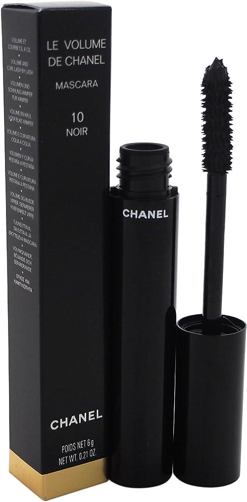 Chanel le volume de chanel 10 noir, mascara per  donna, 6 gr 3145891912104