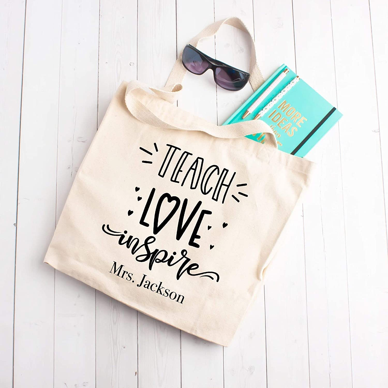 Teach Jacksonville Mall Memphis Mall Love Inspire Bag Tote Beach