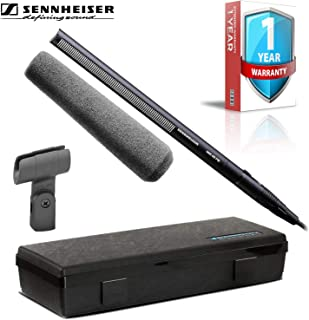 Sennheiser MKH 416 Compact Shotgun Condenser Tube Microphone with Windmuff, Case and 1-Year Extended Warranty