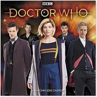 2020 Doctor Who Wall Calendar (DDD9132820)