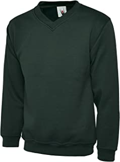 UC204 Uneek 340 GSM Premium V-Neck Sweat Shirt