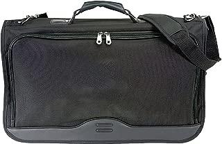 Ballistic Nylon Tri-fold Carry On Garment Bag (Black)