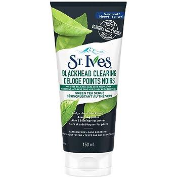 St. Ives Blackhead Clearing Green Tea Scrub, 150 Ml
