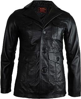 MDM Men's leather blazer