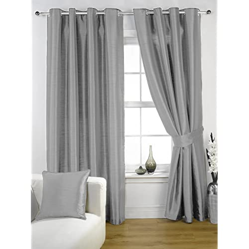 silver grey curtains amazon co uk 11743 | 71gbq20viil sr500 500